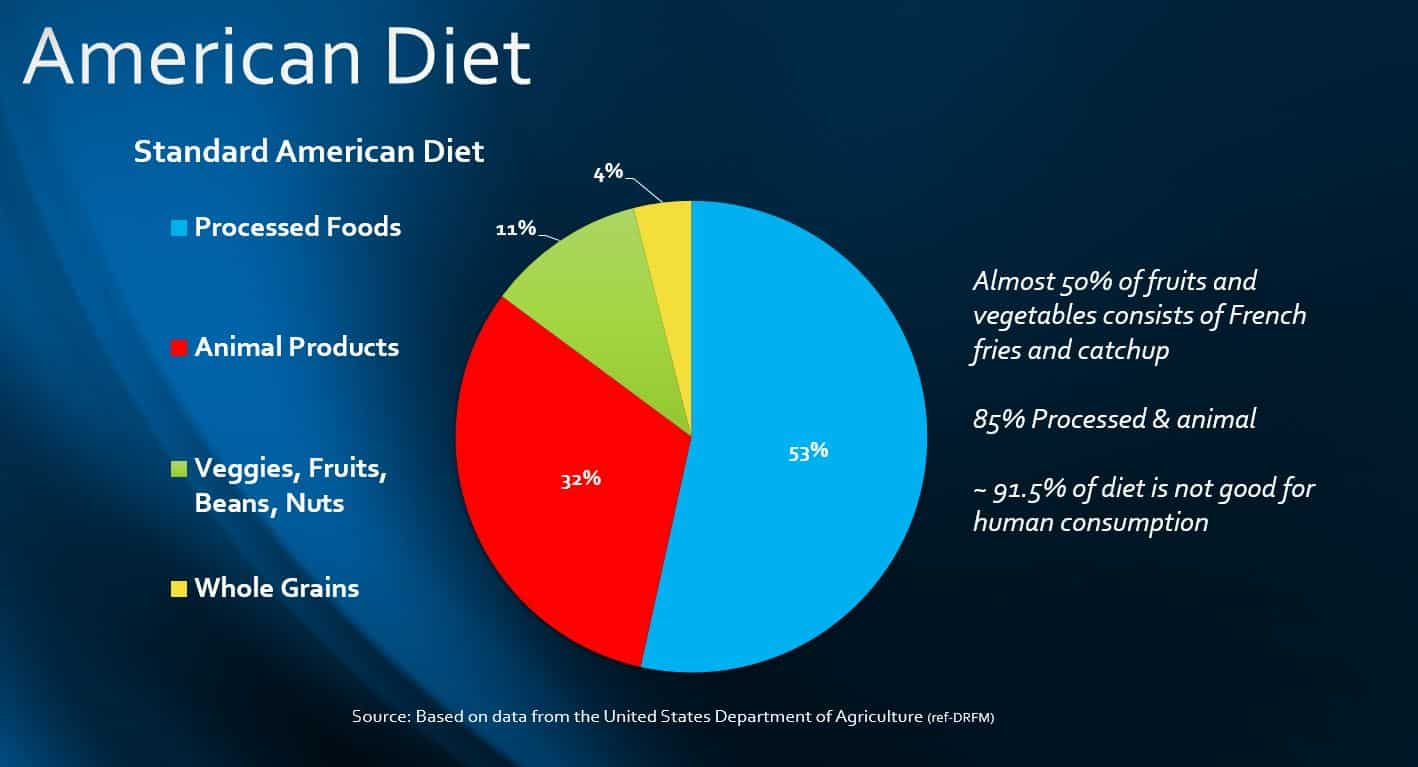 American Diet and Hormone Replacement