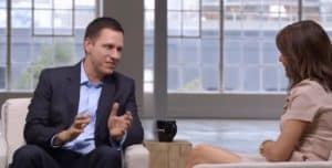 Peter Thiel Bloomberg TV HGH Longevity