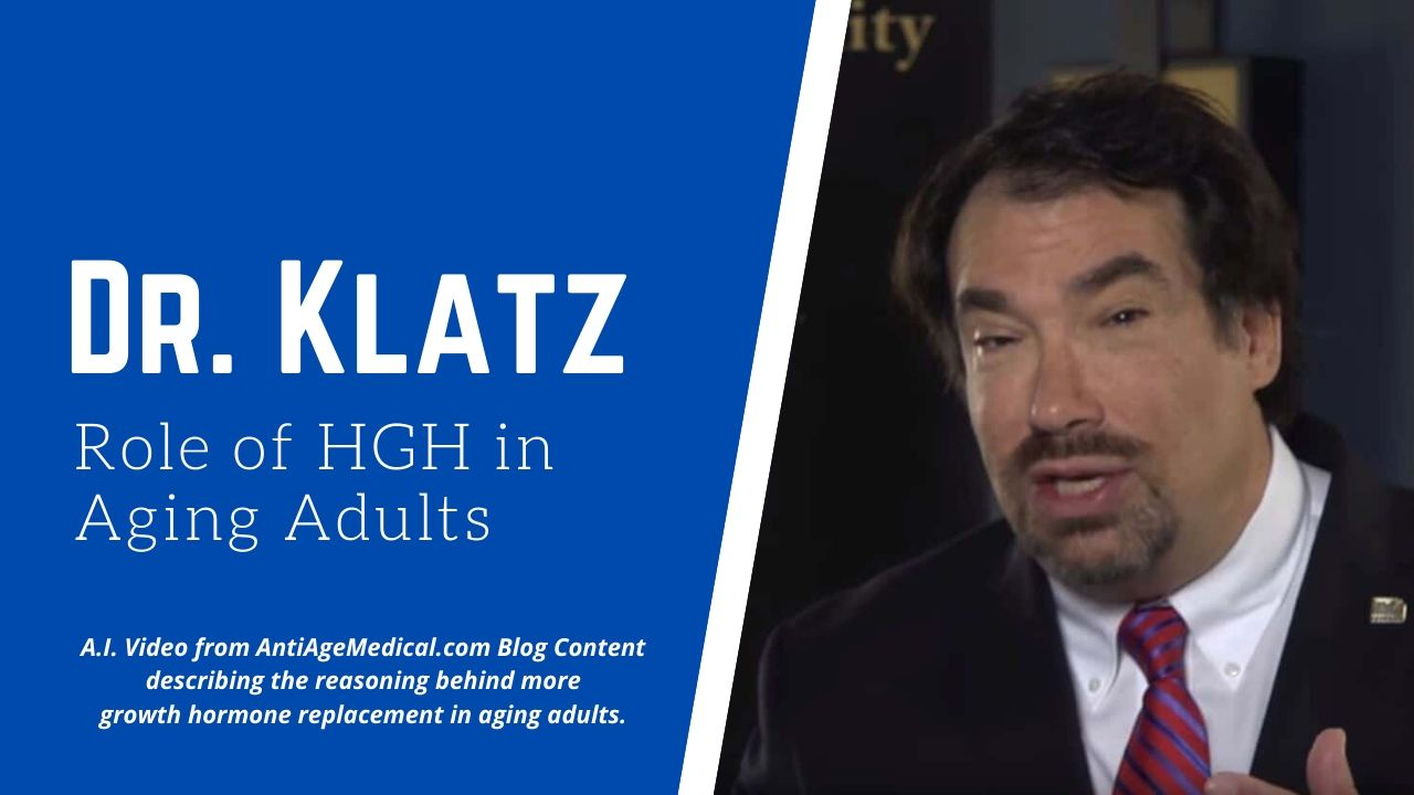 HGH Costs Arguments Dr. Klatz A4M